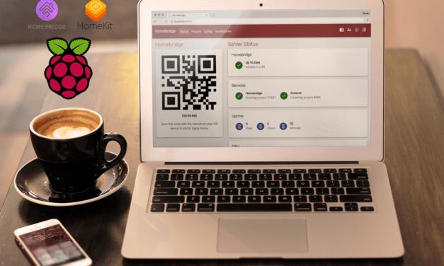 Raspberry Pi HomeBridge the Easy Way + Web UI-X – HomeKit