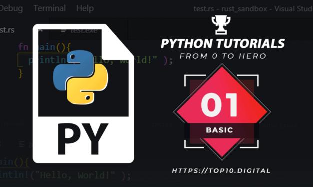 Python Tutorial Complete Series – 01