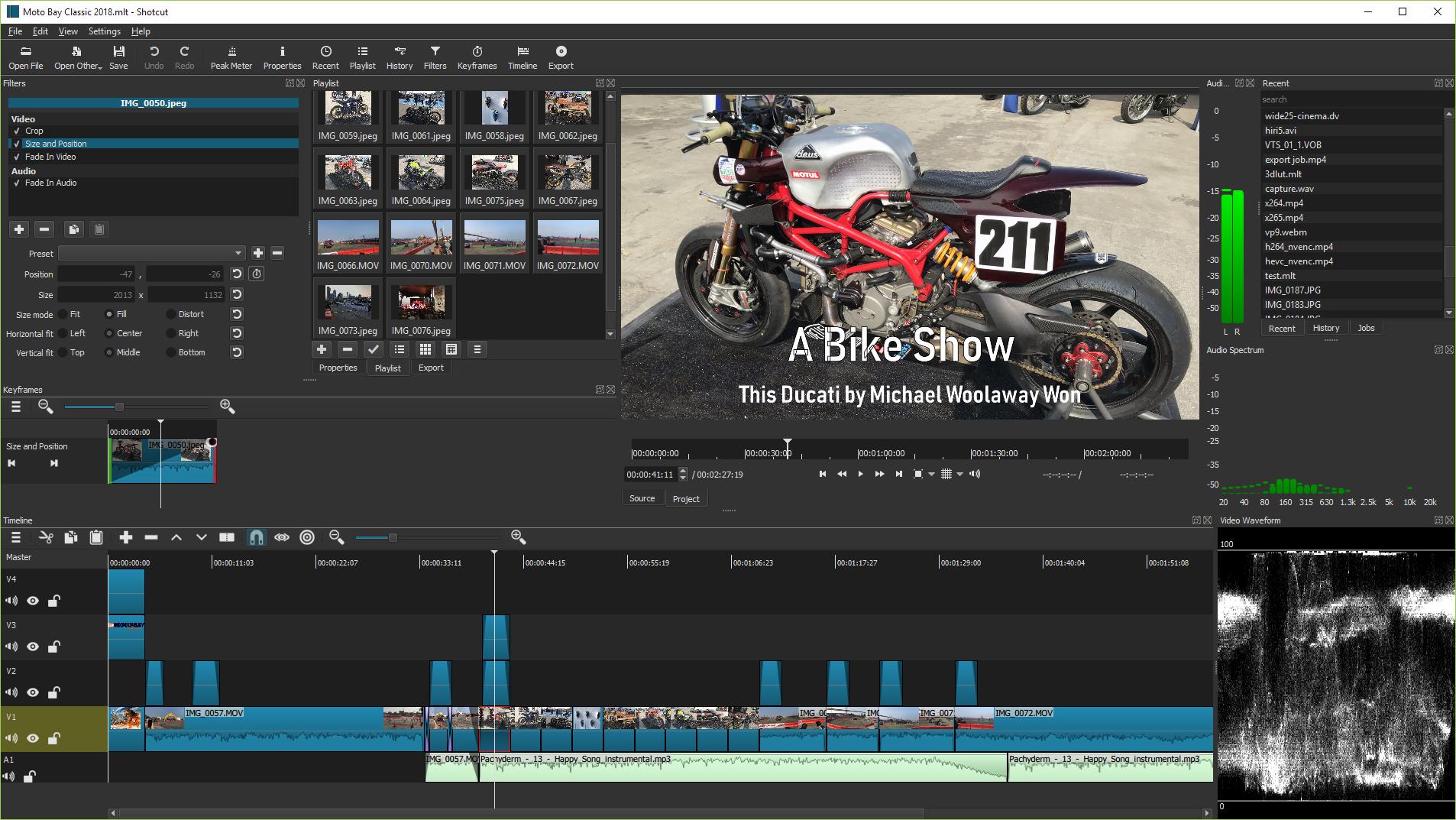 free video editing shotcut