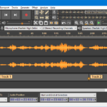 Audacity Audio Editor A Free software