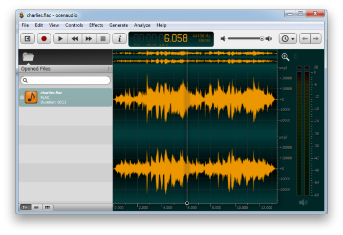 Ocenaudio- A stunning Audio Editing Software 2 Top10.Digital