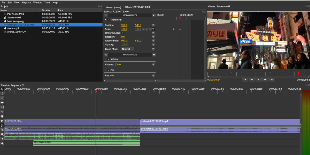 Olive Video Editor, A Free Video Editor