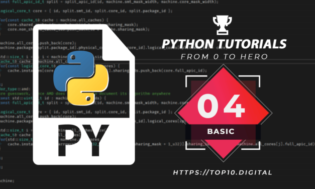 Python Complete Series – 04