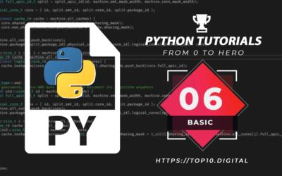 Python Complete Series – 06