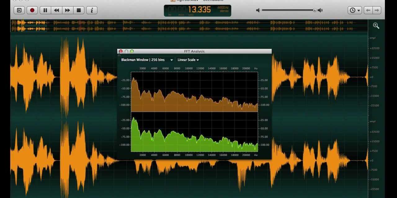 Ocenaudio- A stunning Audio Editing Software