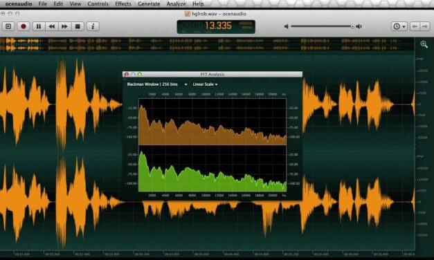 Ocenaudio- A stunning Audio Editing Software