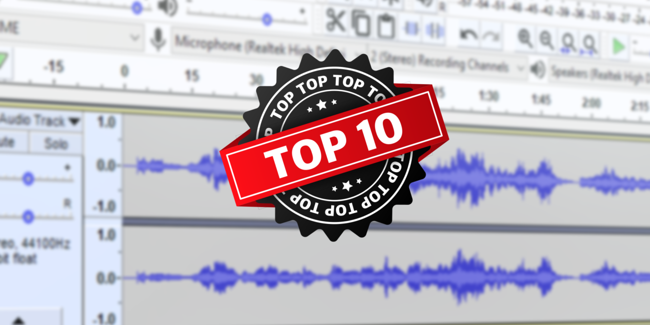 Top 10 Free Audio Editing Software