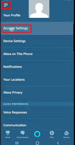 check history of Amazon Alexa