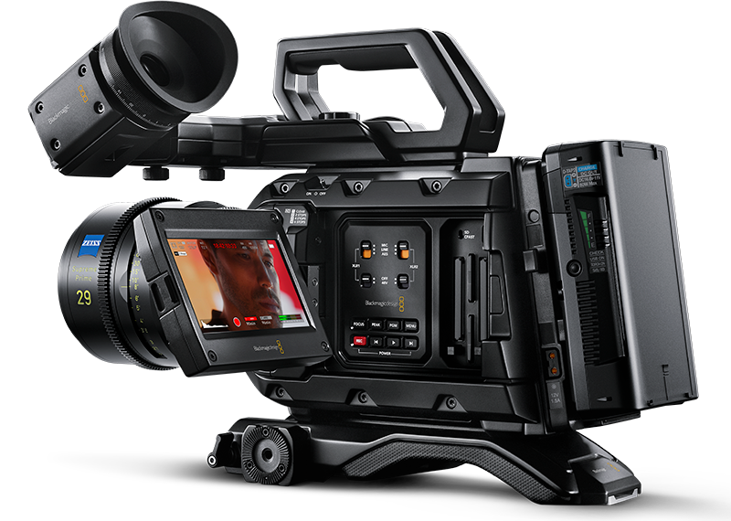 URSA Mini Pro 12K PL Camera - Same from Outside Different from Inside 1 Top10.Digital