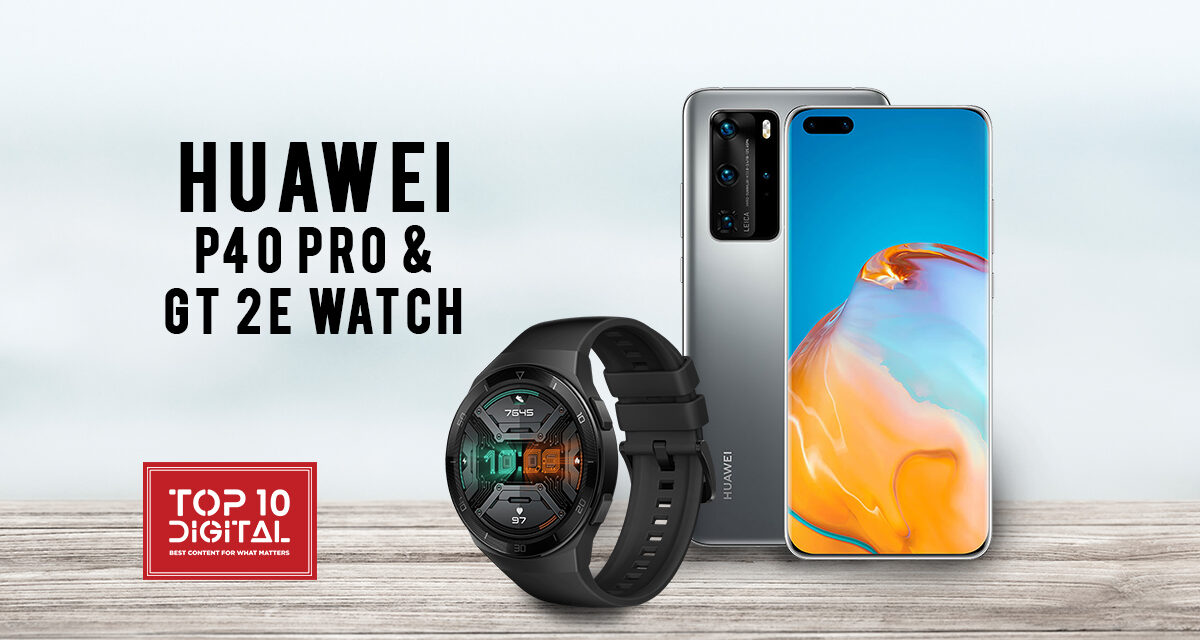 The All New Smartwatch Huawei GT 2e and Smartphone P40 pro