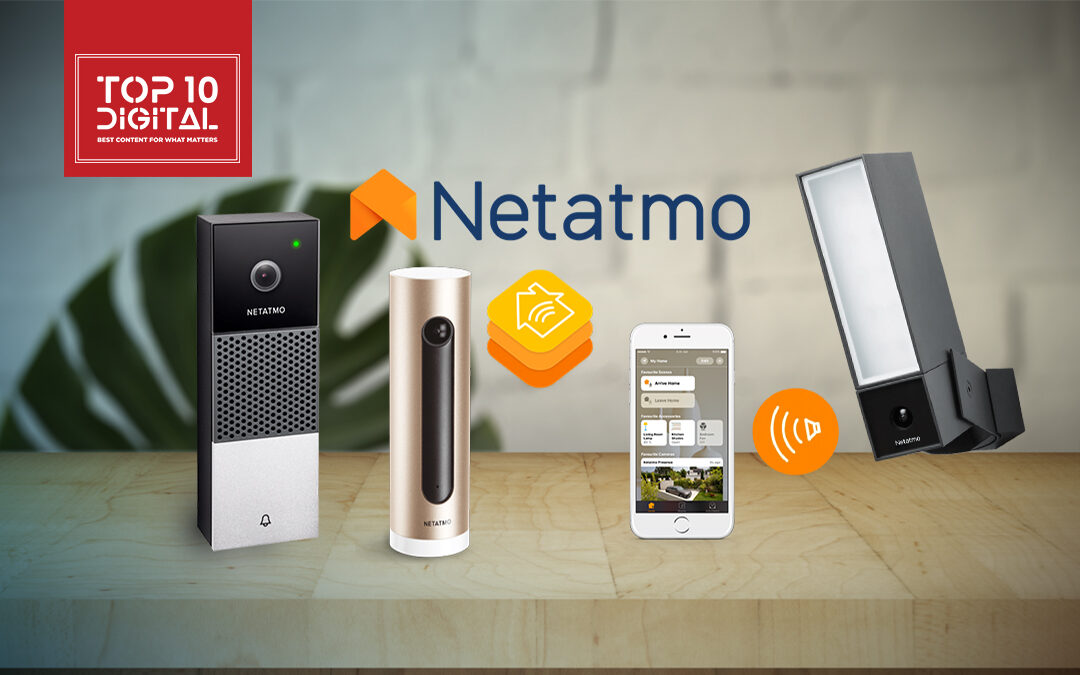 Netatmo HomeKit Security Camera and Video Doorbell