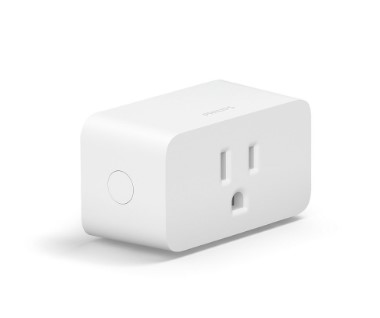 Smart plug with hue lights