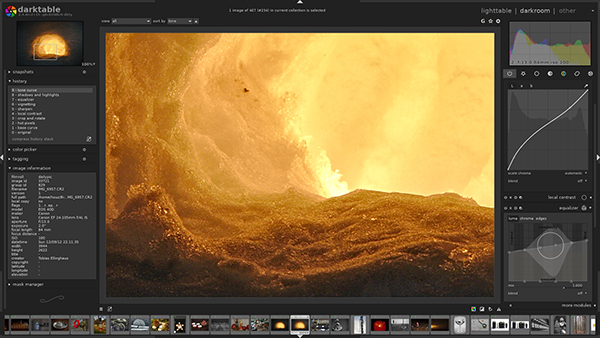 DarkTable a Free Open-Source Photo Editing Software 3