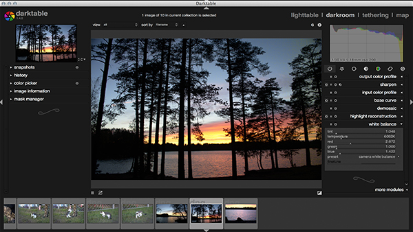 DarkTable a Free Open-Source Photo Editing Software 2