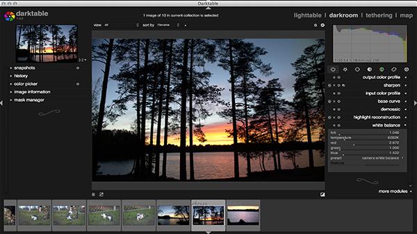 DarkTable a Free Open-Source Photo Editing Software 2 Top10.Digital