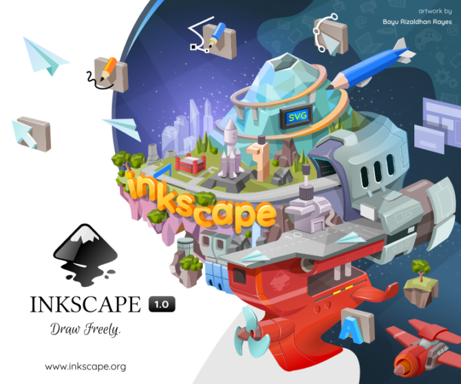 inkscape,free open source photo editing software