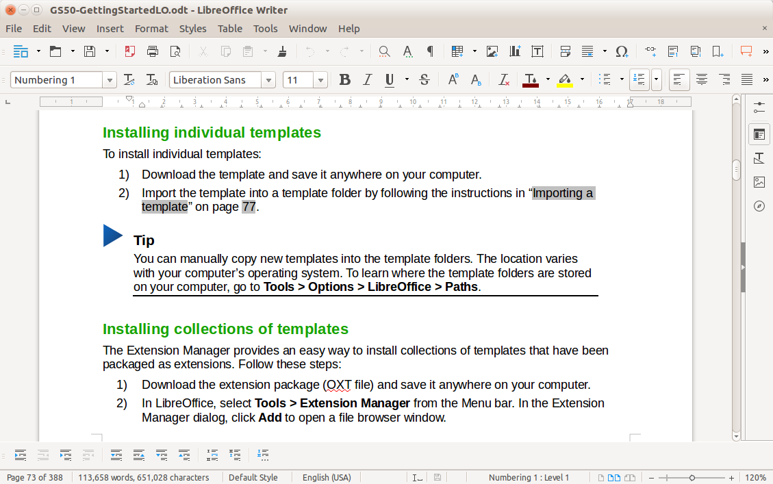 LibreOffice Free Alternative of Microsoft Office 4