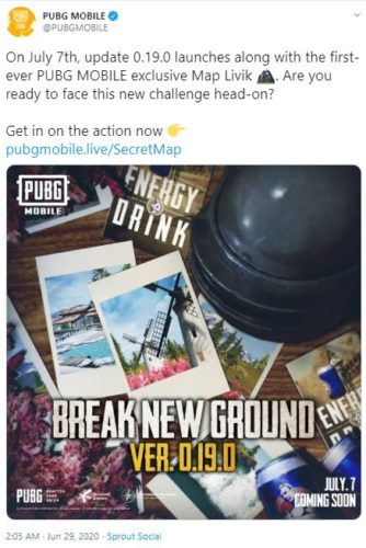 pubg mobile season 14 update 0.19.0