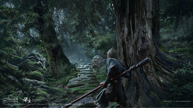 Black Myth action adventure game