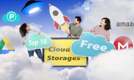Top 10 Free Cloud Storages in September 2020
