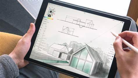concepts, Digital Art Application on Mobile