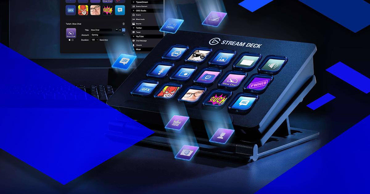 Stream Deck-A Customizable Digital Controller