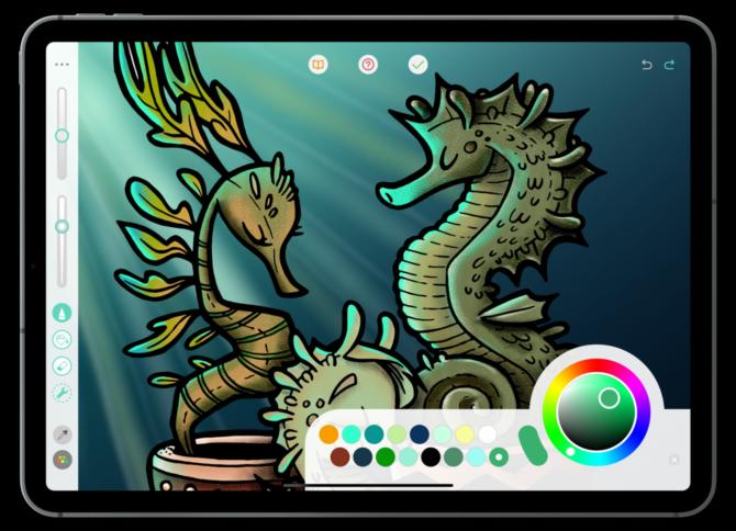 pigment, Digital Art Application on Mobile