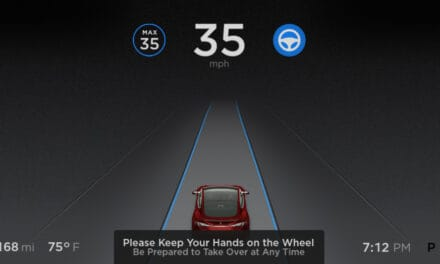 Tesla Cars Detect Speed Limits Sign Now