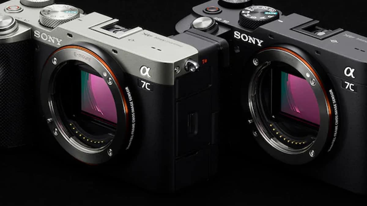SONY A7C new