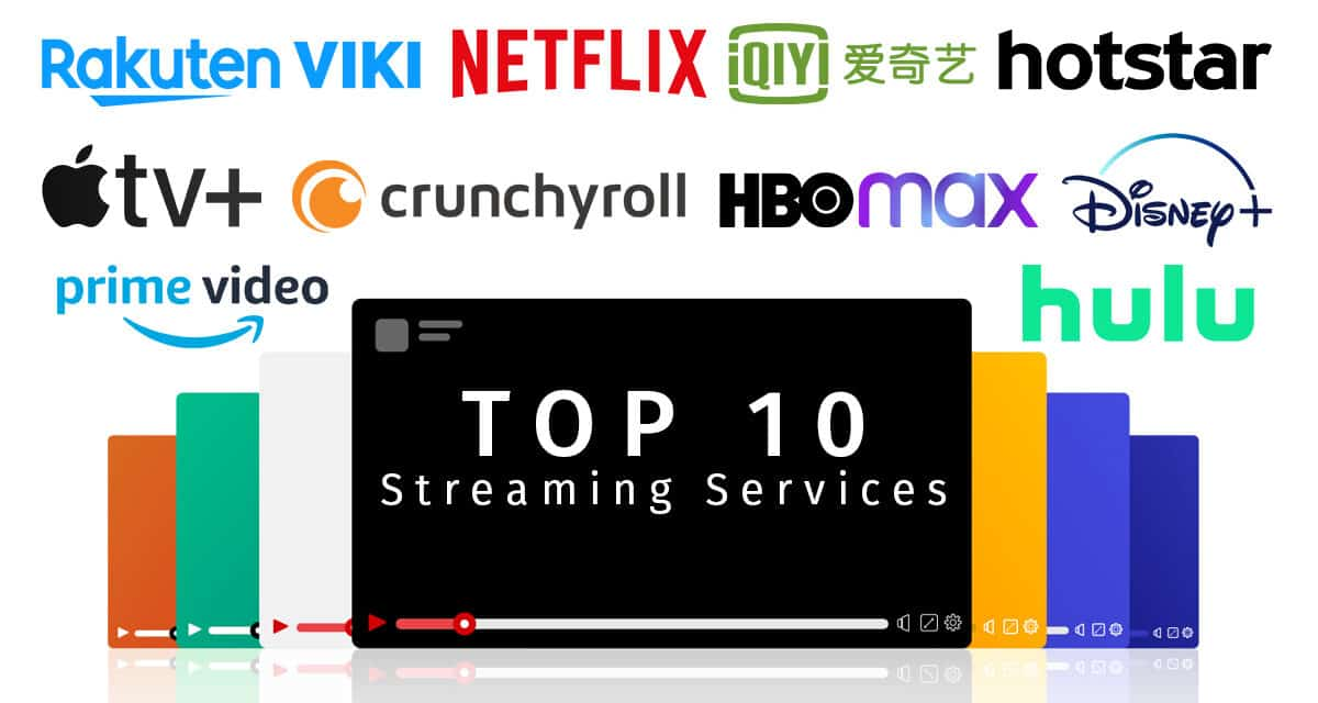 TOP 10 Video Streaming Services in 2020