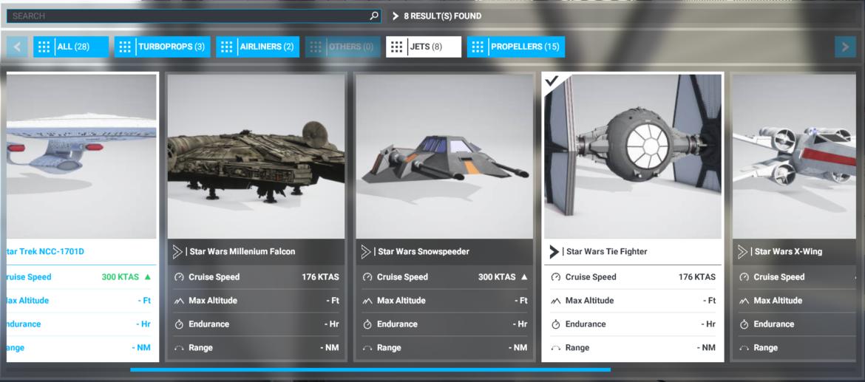 Flight Simulator 2020 extra planes