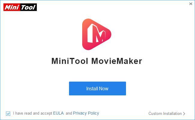 MiniTool Moviemaker Installation