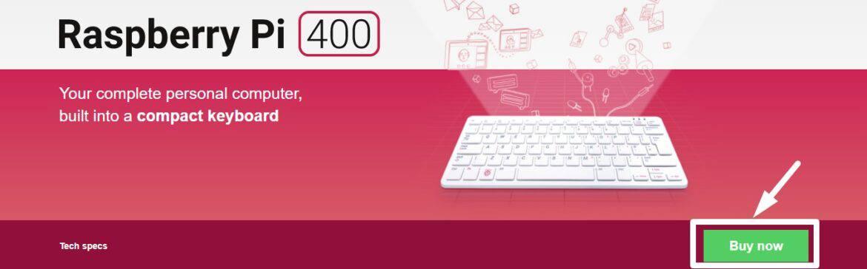 Raspberry Pi 400 buy