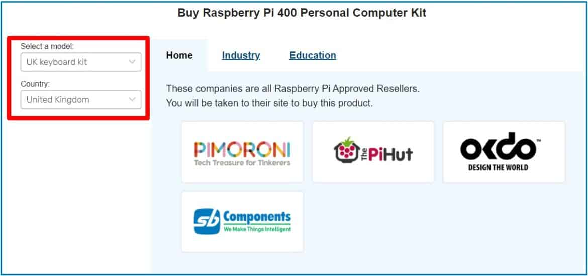 Approved sellers to buy PI 400